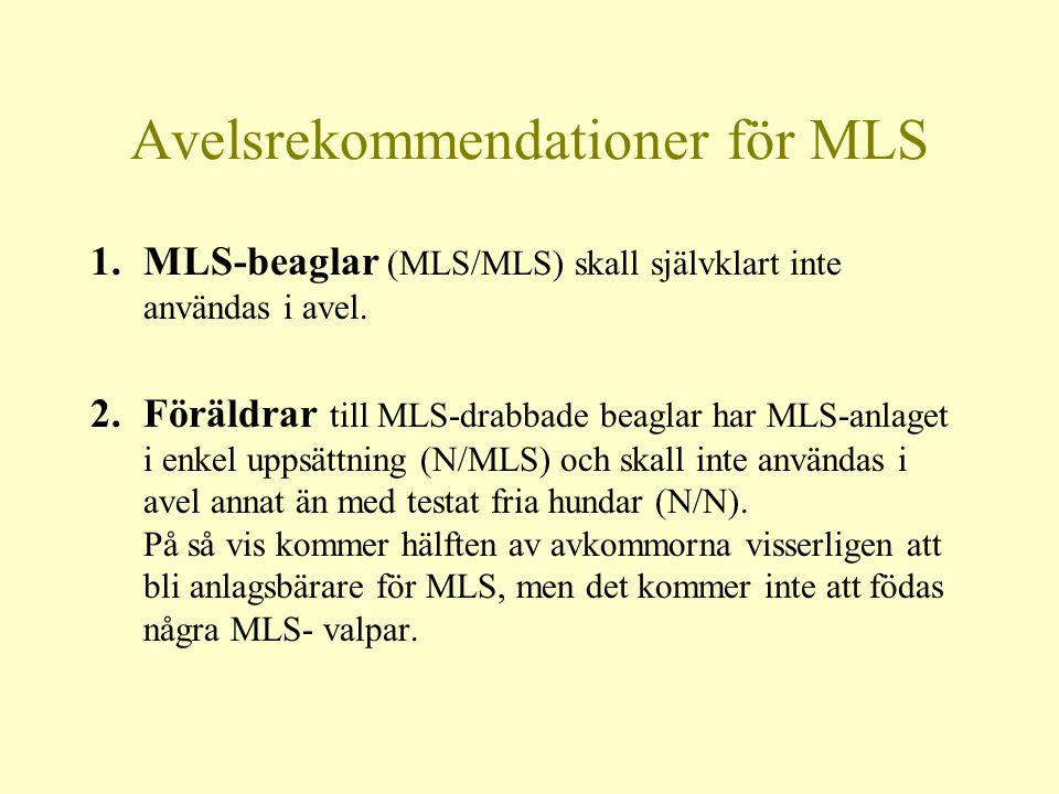 Avelsrekommendationer för MLS