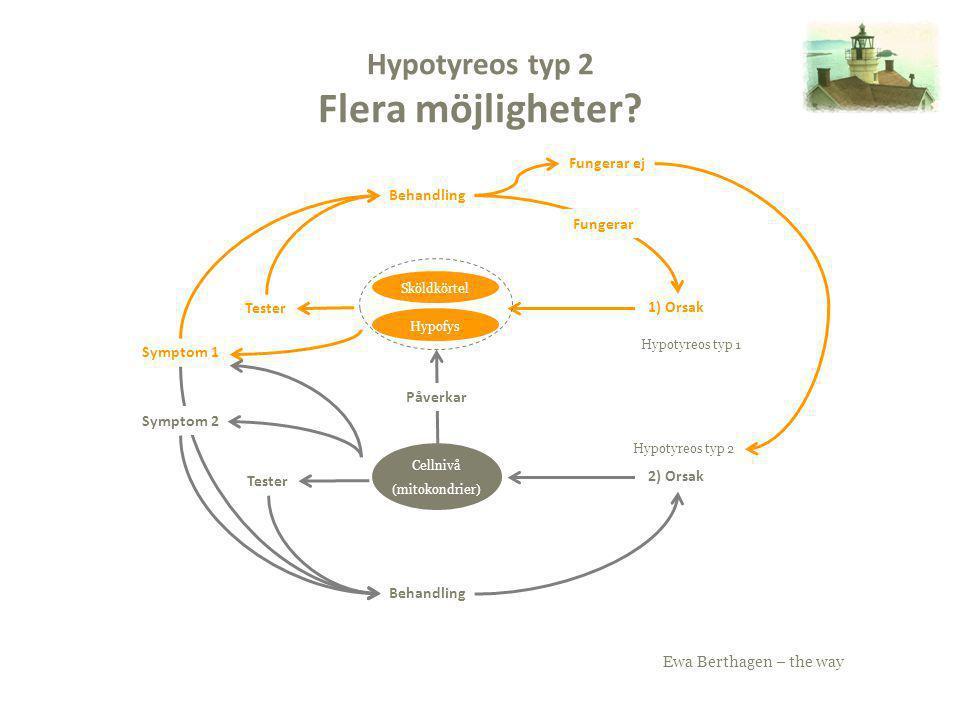 Hypotyreos typ 2 Flera möjligheter