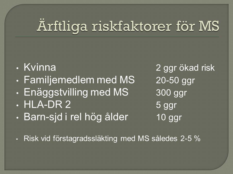 Ärftliga riskfaktorer för MS