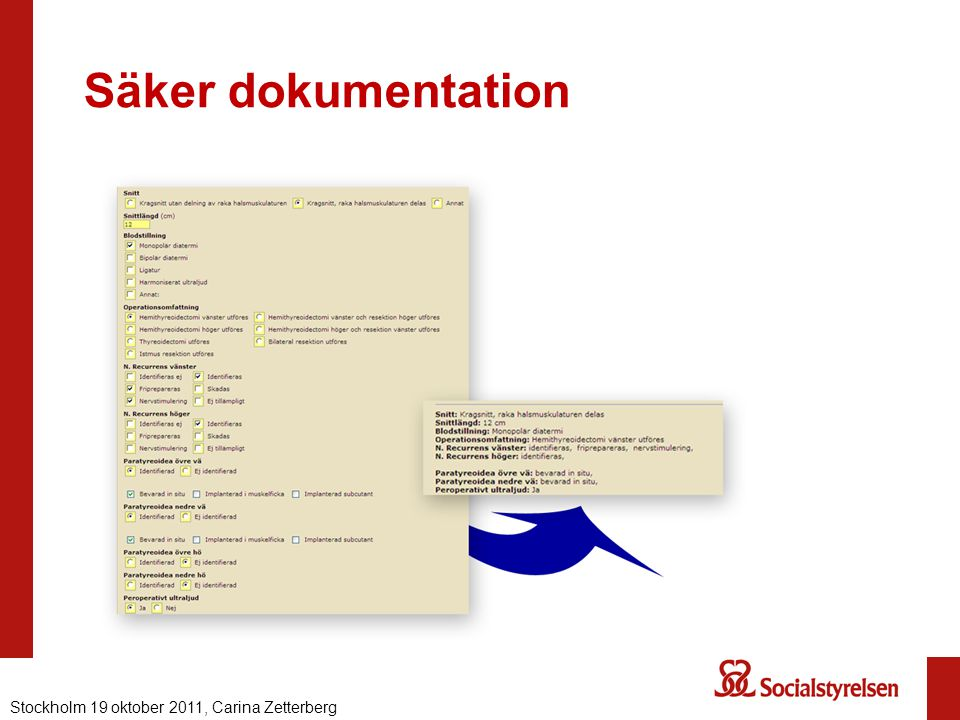 Säker dokumentation ökad patientsäkerhet genom enhetlig dokumentation