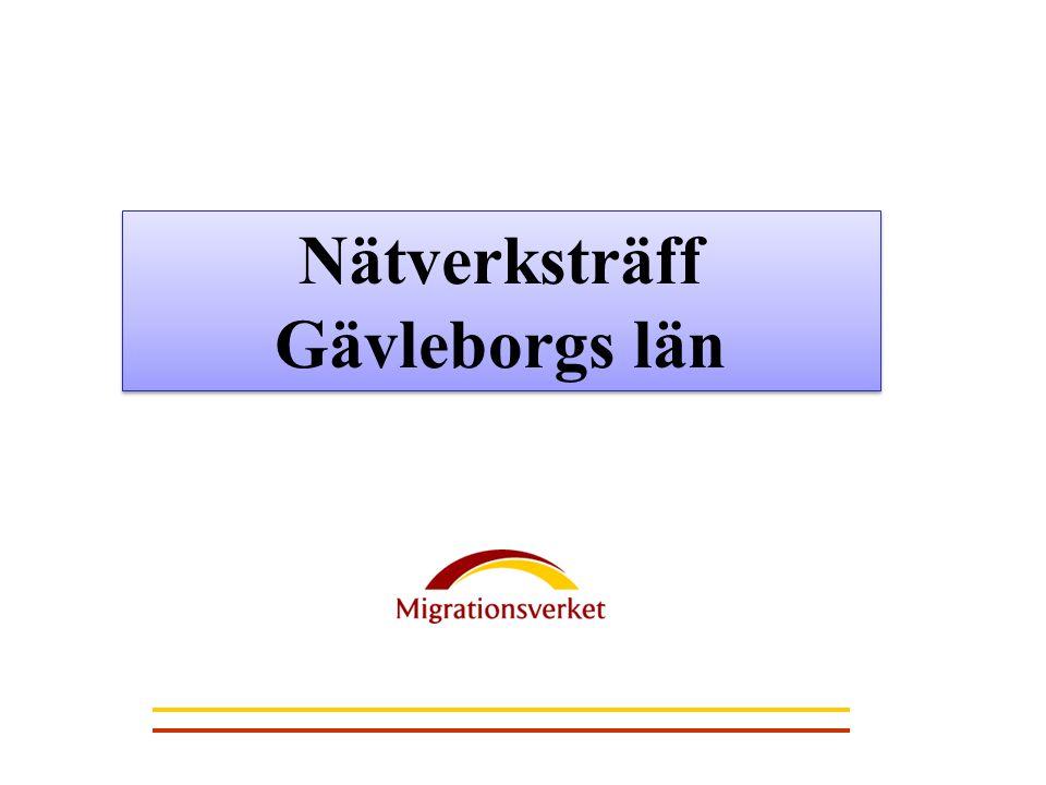 Nätverksträff Gävleborgs län