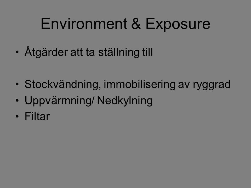Environment & Exposure