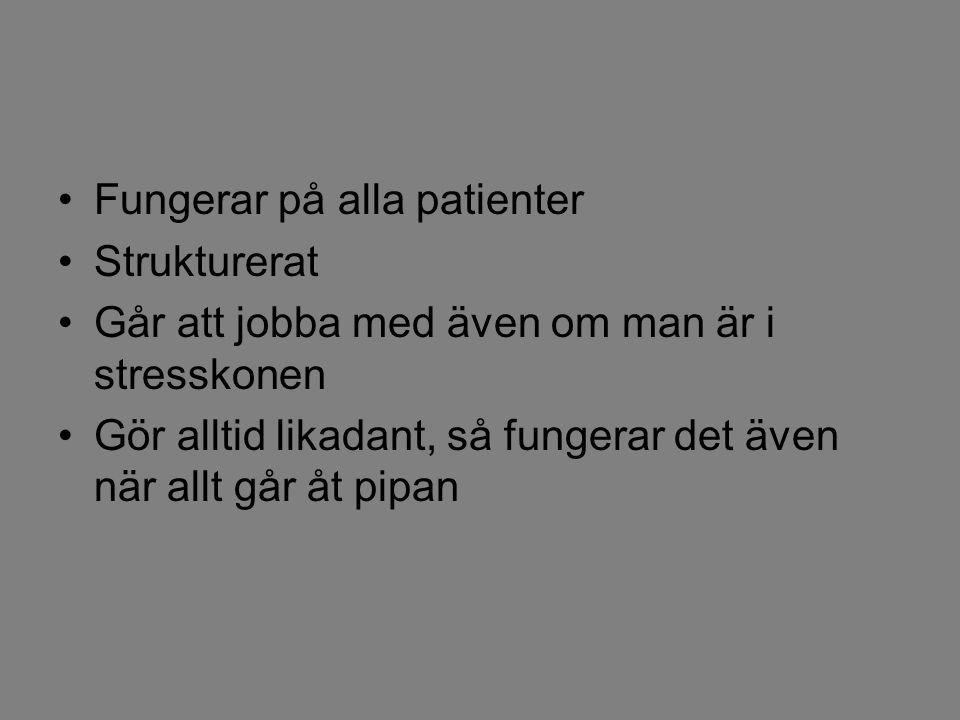Fungerar på alla patienter