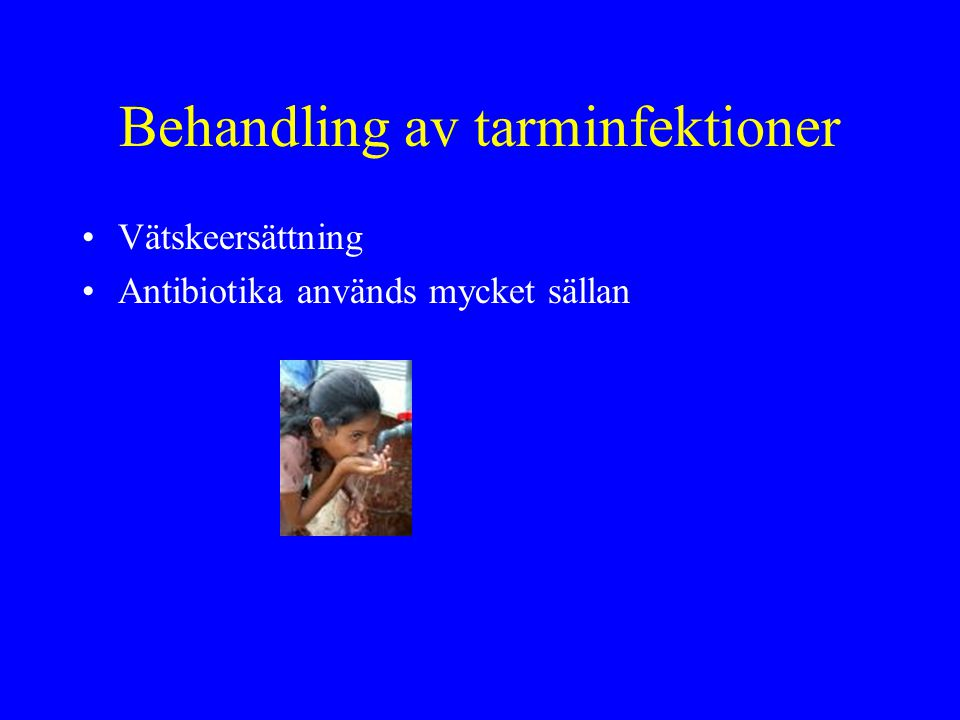 Behandling av tarminfektioner