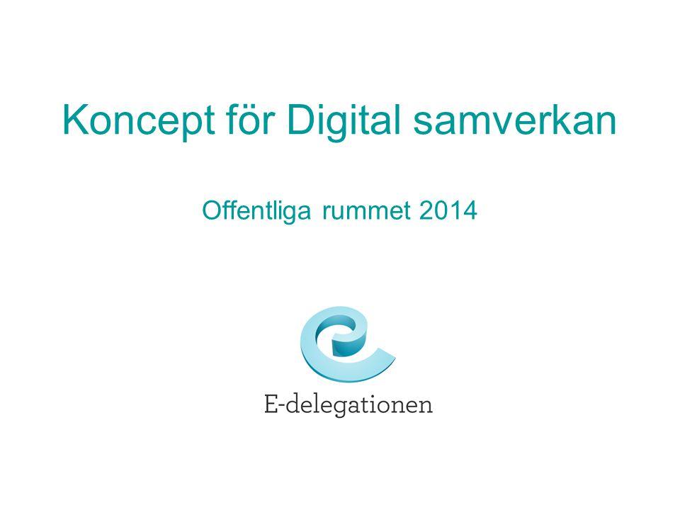 Koncept för Digital samverkan