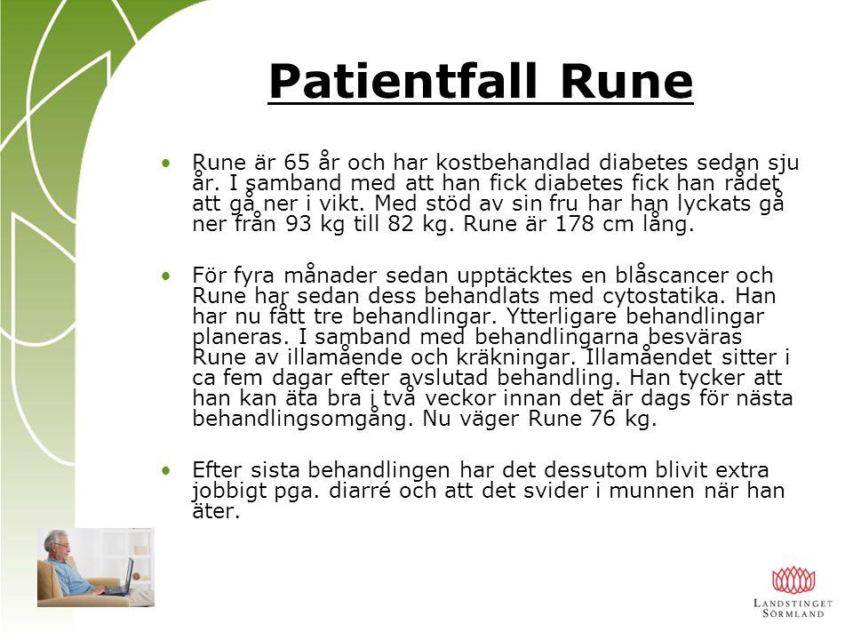 Patientfall Rune