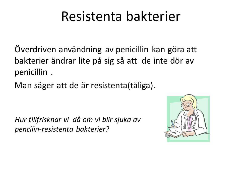 Resistenta bakterier