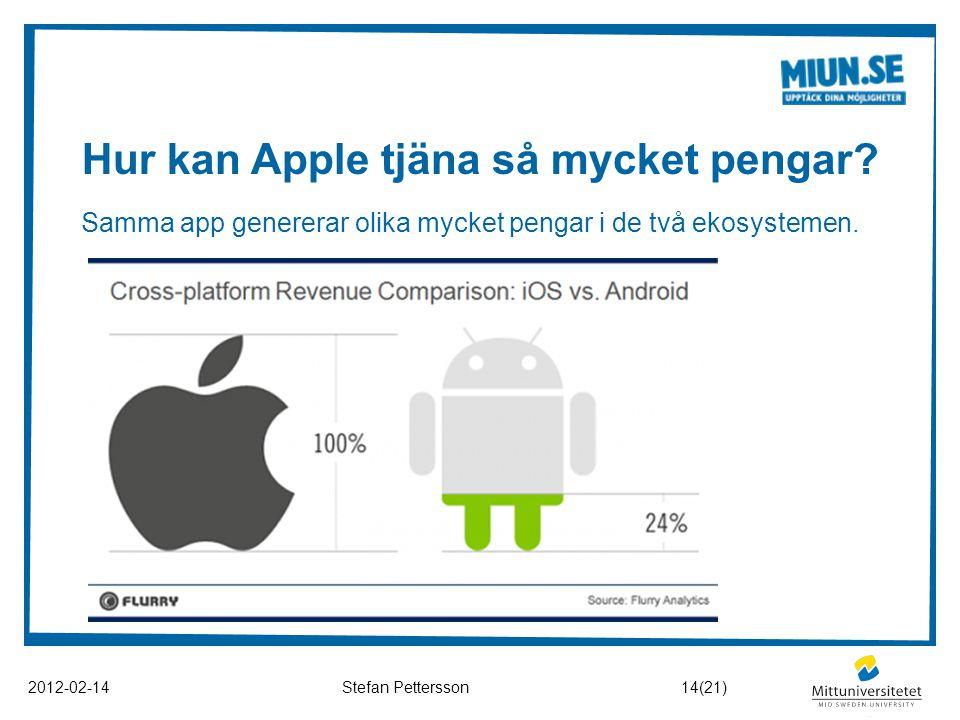 Hur kan Apple tjäna så mycket pengar