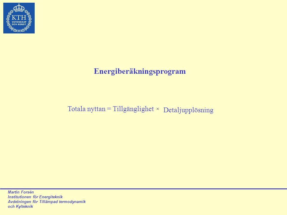 Energiberäkningsprogram