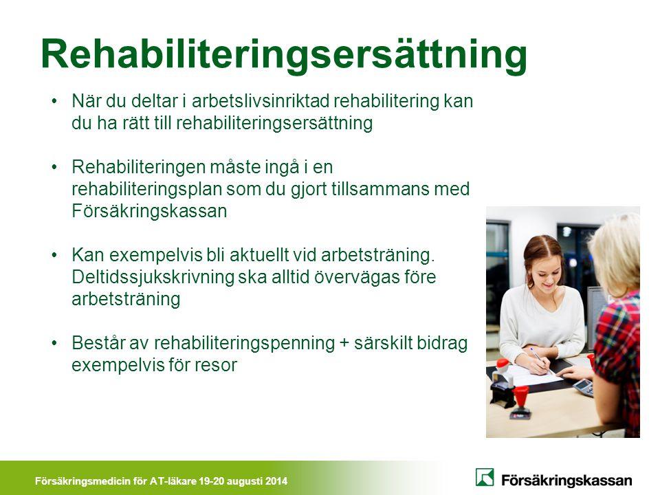 Rehabiliteringsersättning