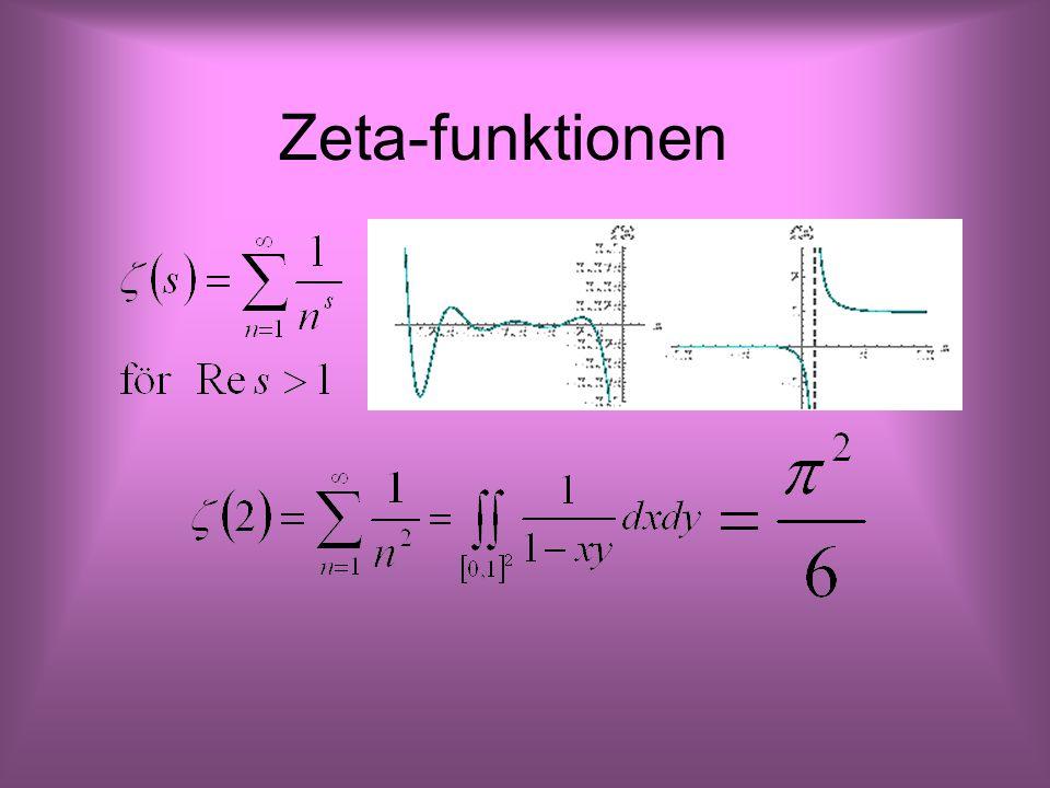 Zeta-funktionen