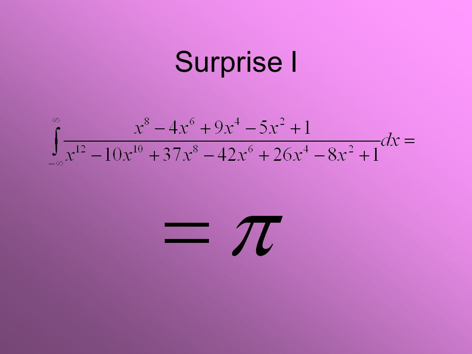 Surprise I