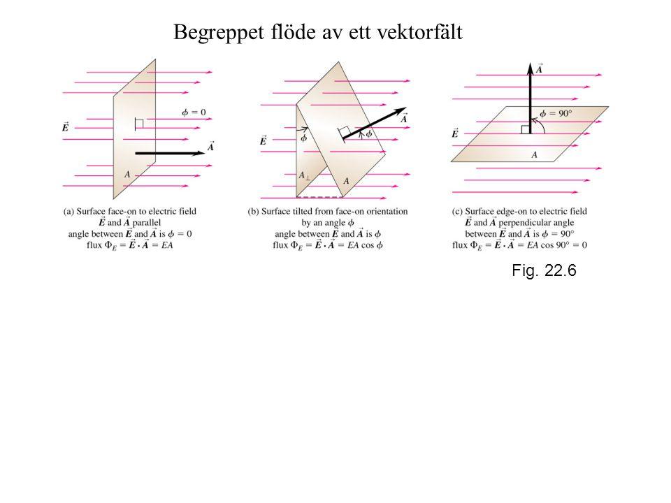 Begreppet flöde av ett vektorfält