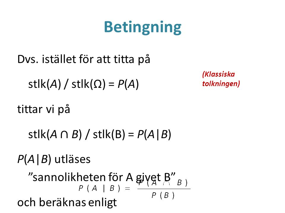 Betingning