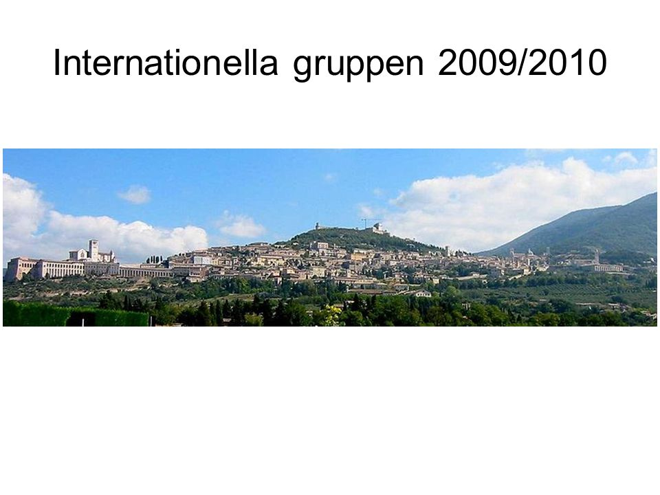 Internationella gruppen 2009/2010