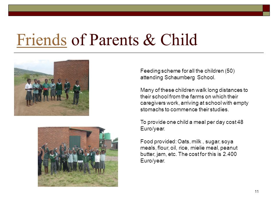 Friends of Parents & Child