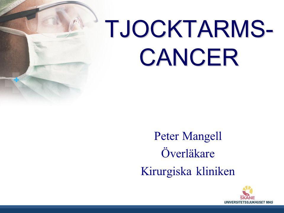 Peter Mangell Överläkare Kirurgiska kliniken