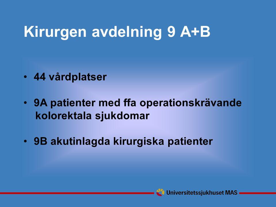 Kirurgen avdelning 9 A+B