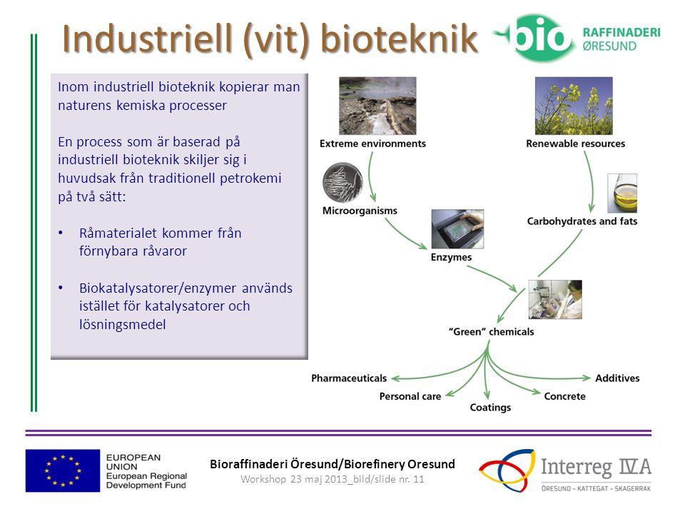 Industriell (vit) bioteknik