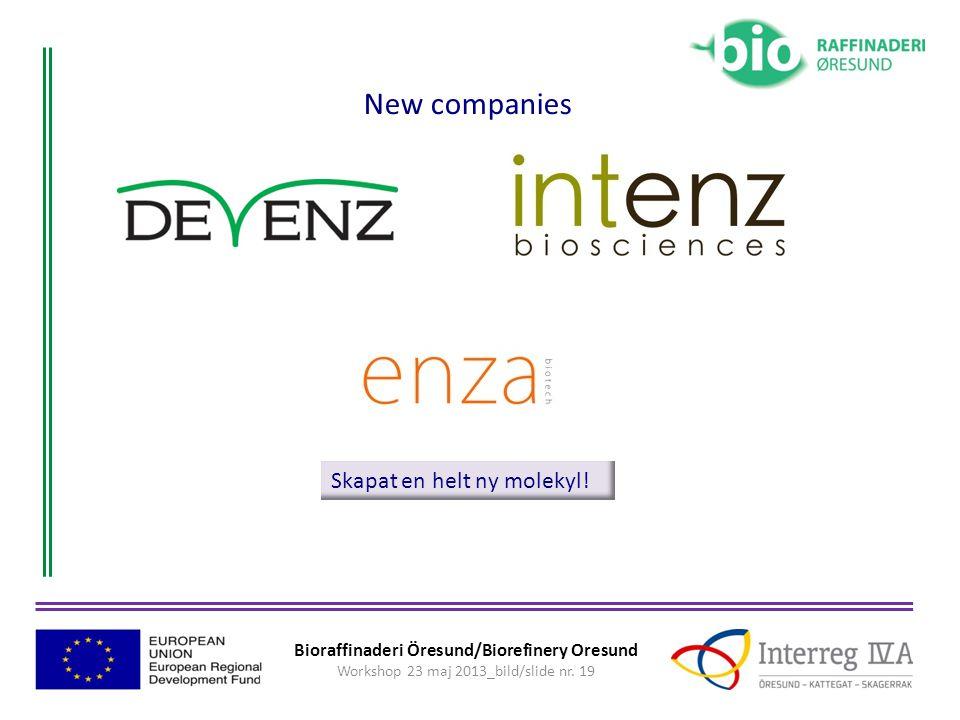 New companies Skapat en helt ny molekyl!