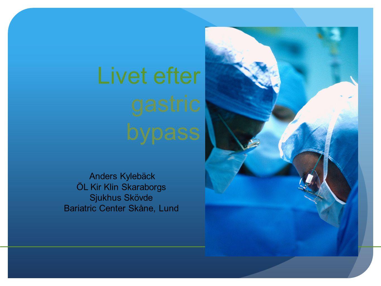 Livet efter gastric bypass