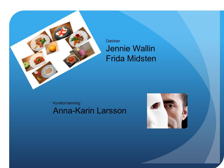 Jennie Wallin Frida Midsten Anna-Karin Larsson Dietister