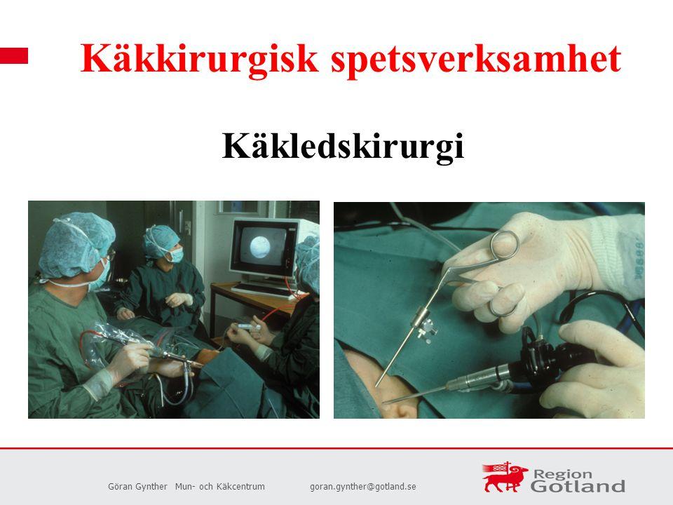 Käkkirurgisk spetsverksamhet