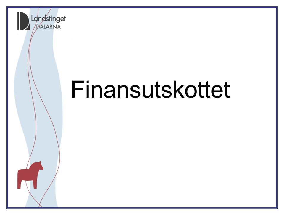 Finansutskottet