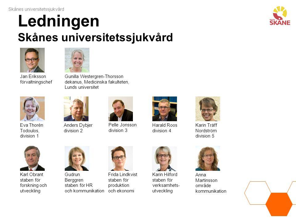 Ledningen Skånes universitetssjukvård