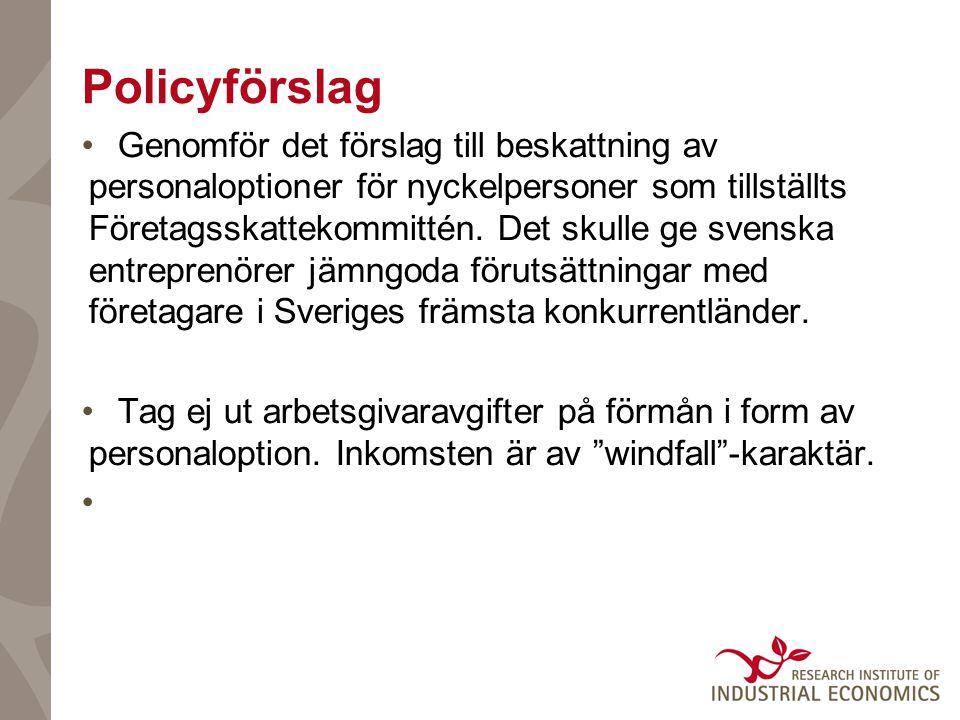 Policyförslag