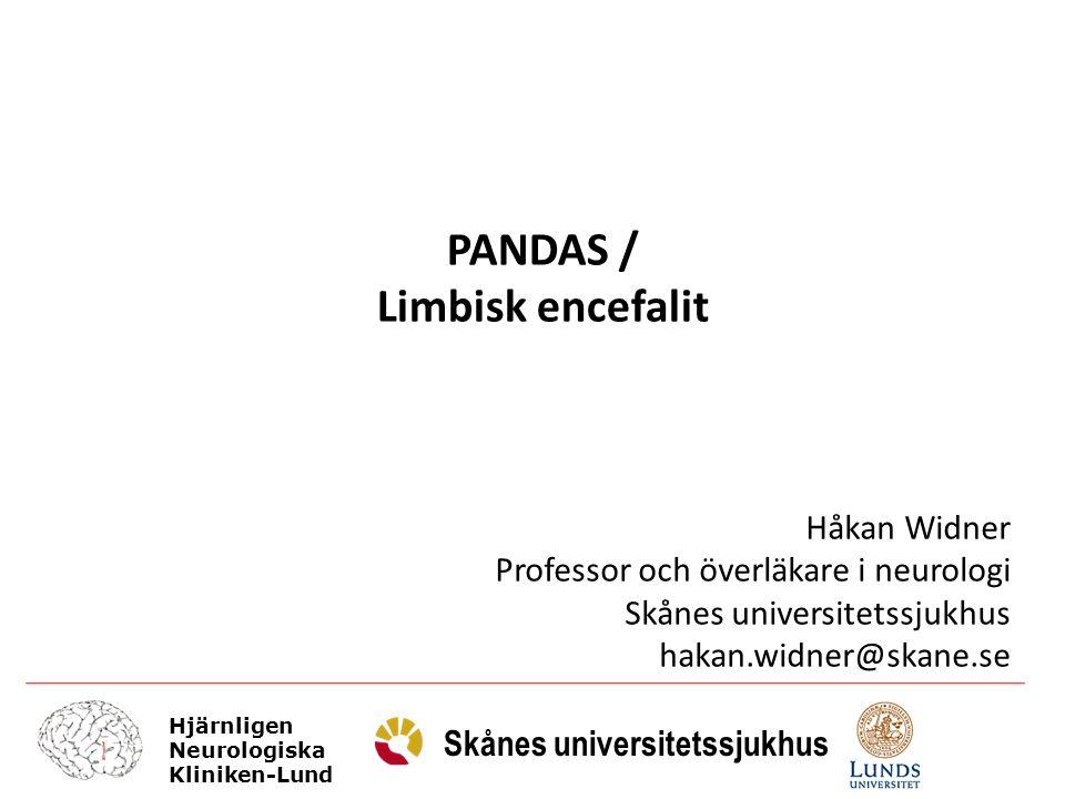 PANDAS / Limbisk encefalit