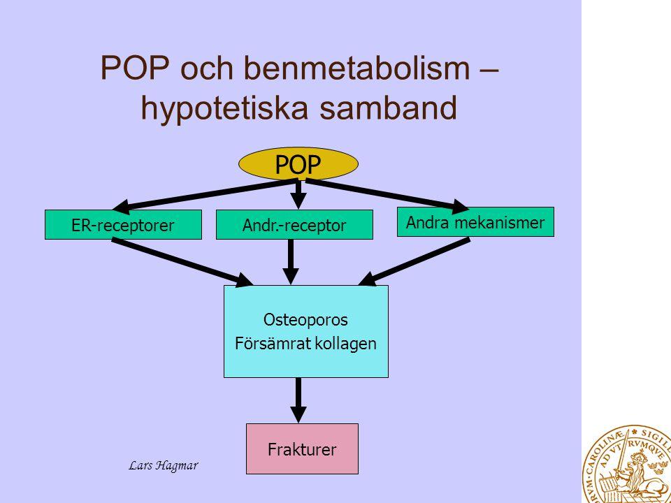 POP och benmetabolism – hypotetiska samband
