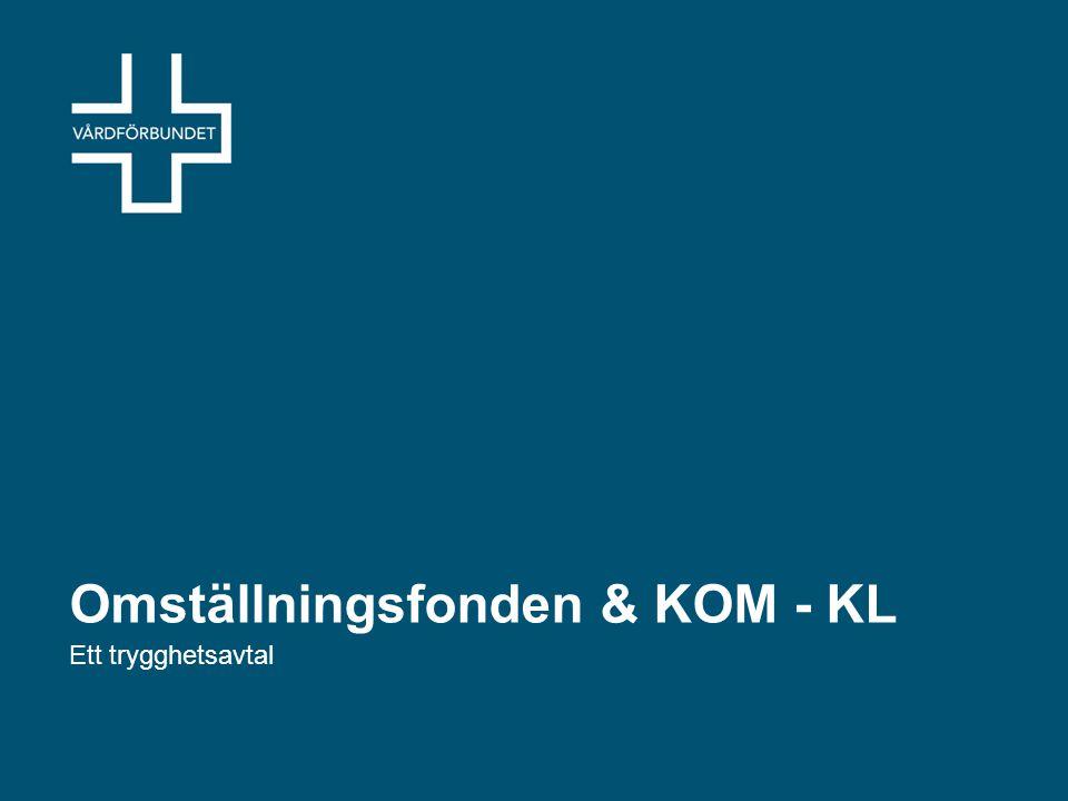 Omställningsfonden & KOM - KL