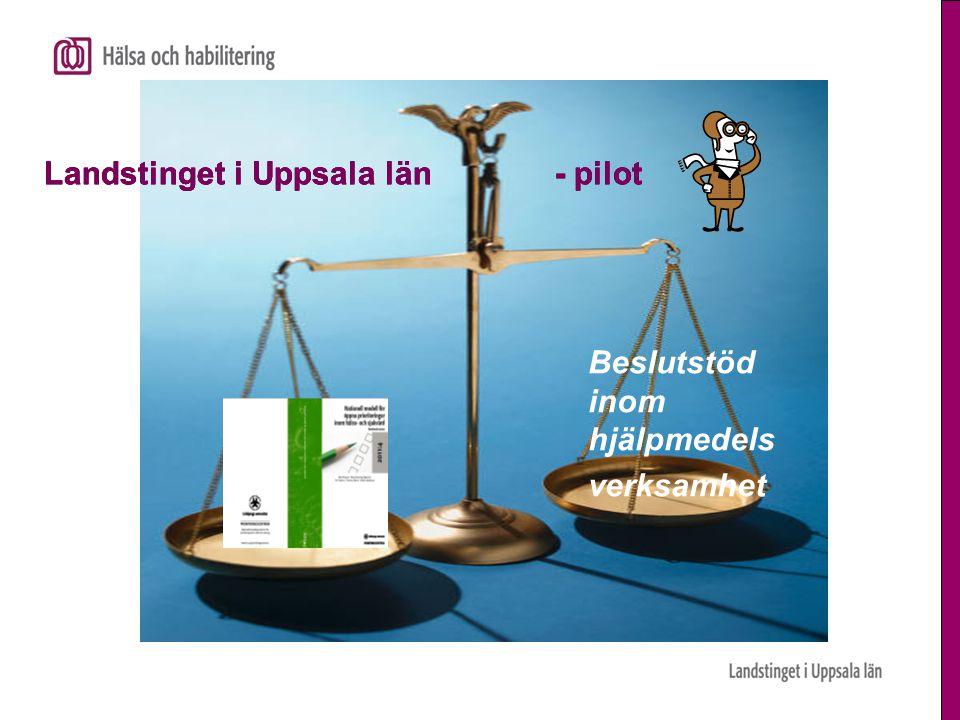 Landstinget i Uppsala län - pilot