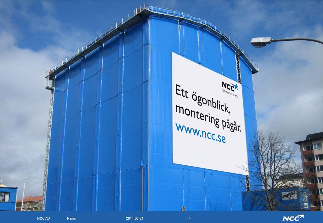 NCC Komplett 2017-04-05. Bilden föreställer NCC:s montagehall på Strandgatan i Eskilstuna. Huset är det andra huset som byggs enligt NCC Komplett.