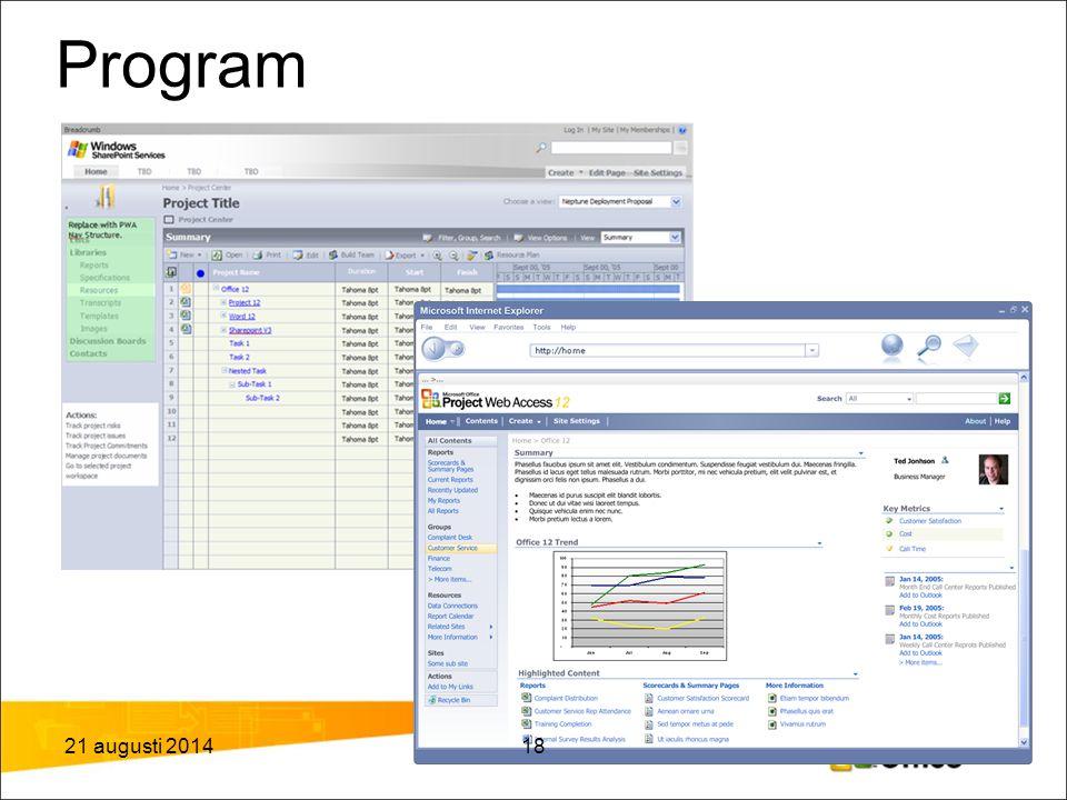 Program Differentiating Programs and Portfolios