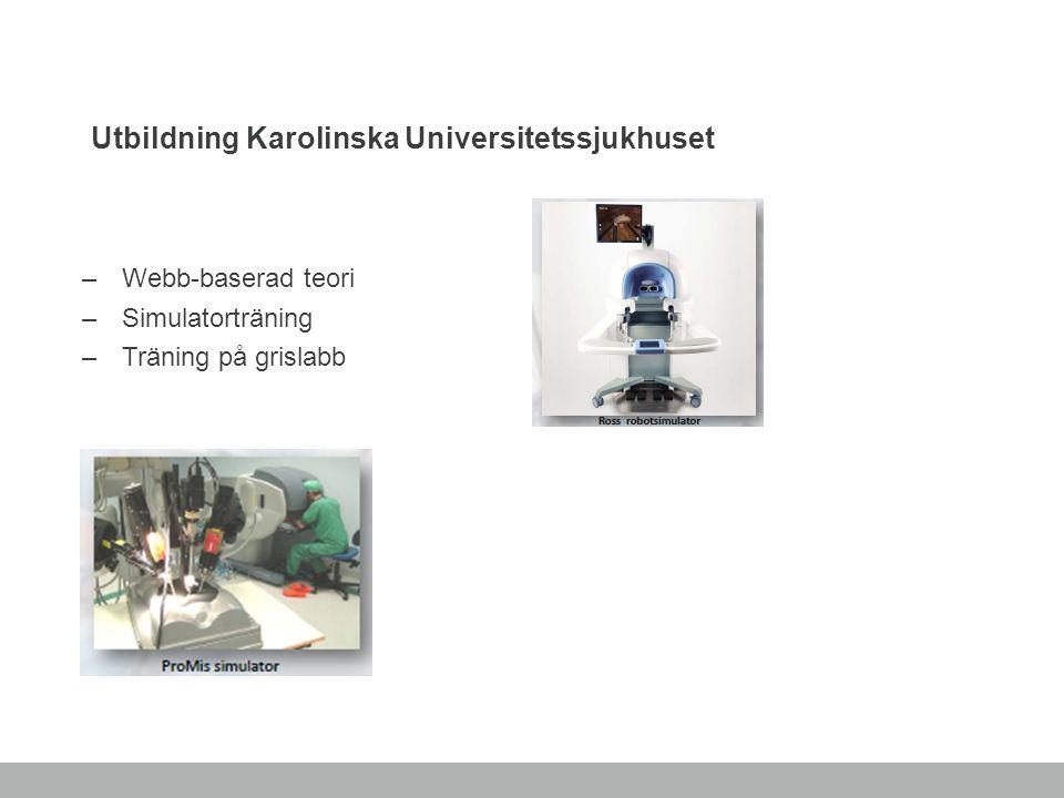 Utbildning Karolinska Universitetssjukhuset