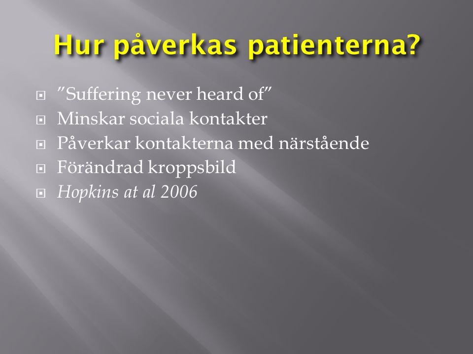 Hur påverkas patienterna