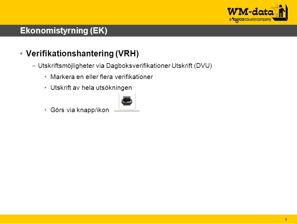 Verifikationshantering (VRH)