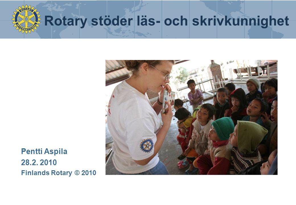 Pentti Aspila 28.2. 2010 Finlands Rotary © 2010