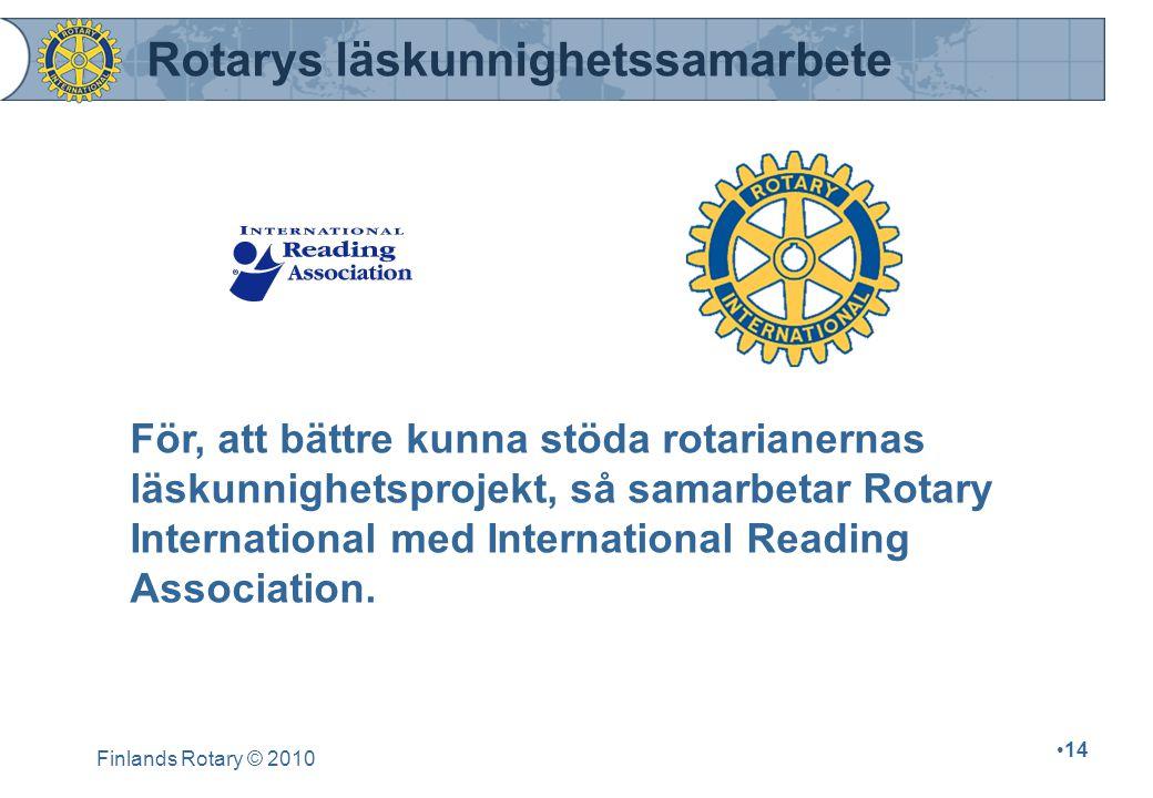 Rotarys läskunnighetssamarbete