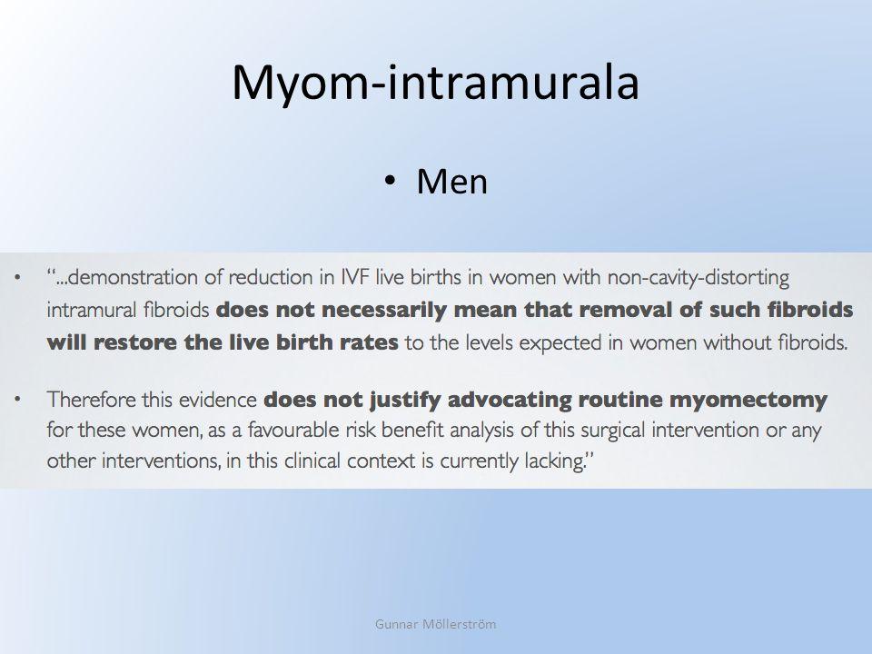 Myom-intramurala Men Gunnar Möllerström