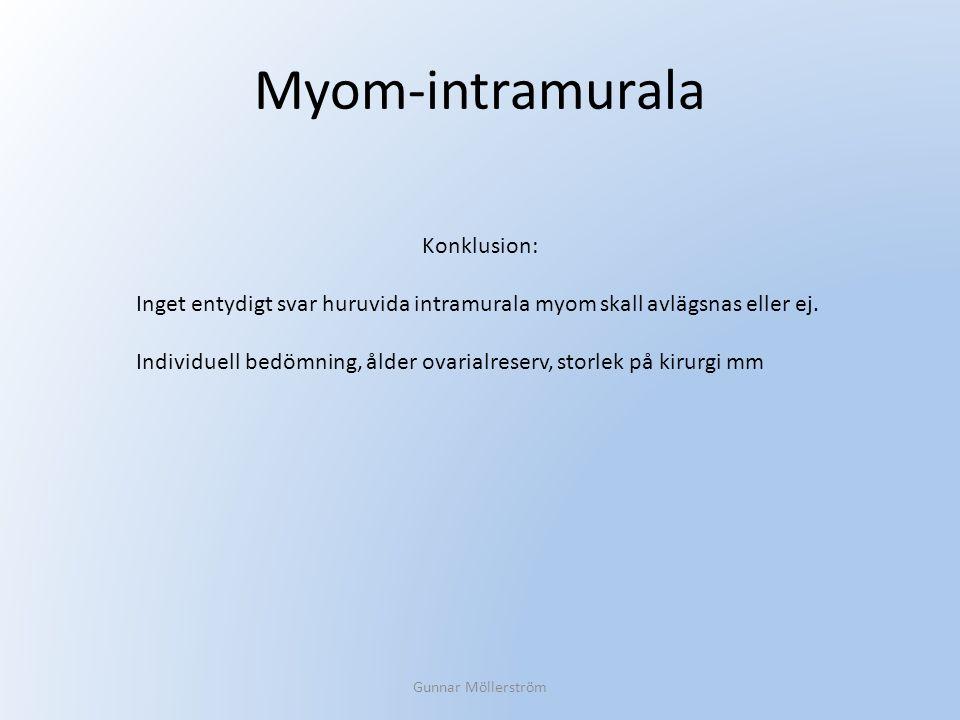 Myom-intramurala Konklusion: