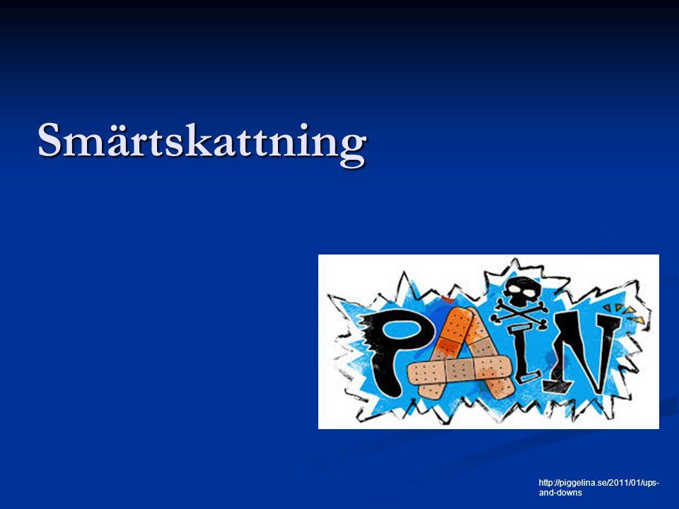 Smärtskattning http://piggelina.se/2011/01/ups-and-downs