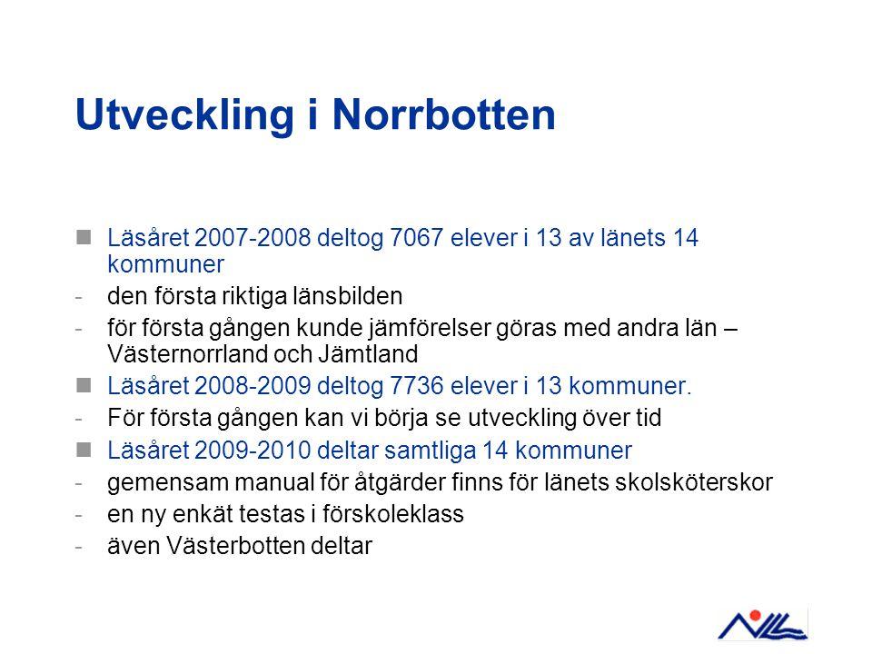 Utveckling i Norrbotten