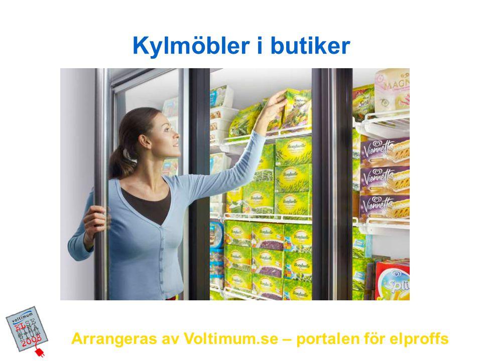 Kylmöbler i butiker Arrangeras av Voltimum.se – portalen för elproffs