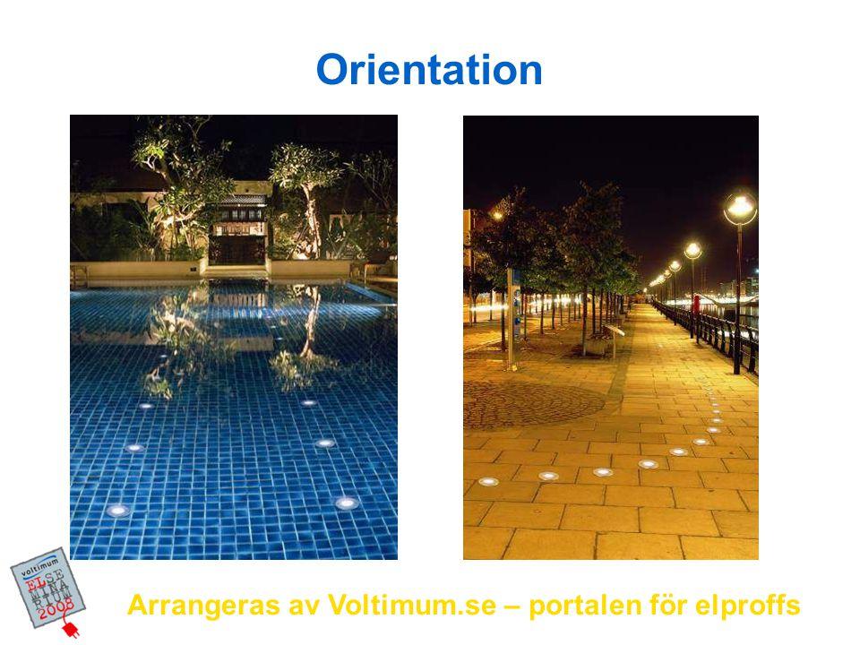 Orientation Arrangeras av Voltimum.se – portalen för elproffs