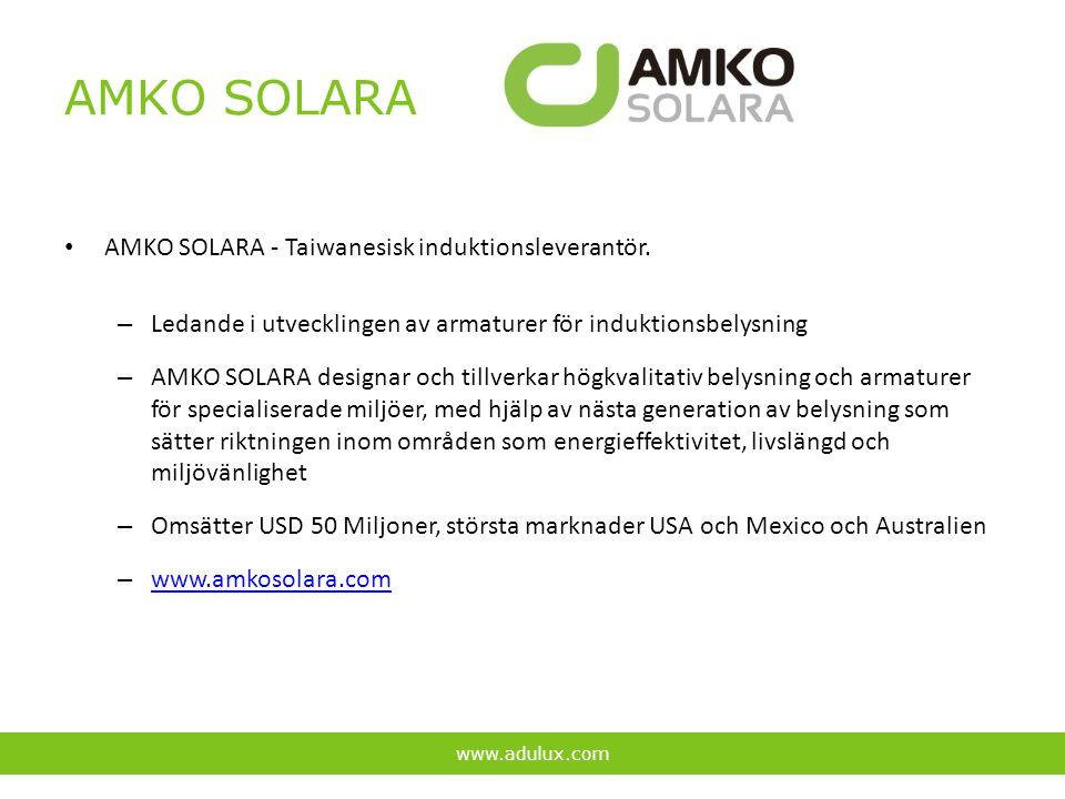 AMKO SOLARA AMKO SOLARA - Taiwanesisk induktionsleverantör.