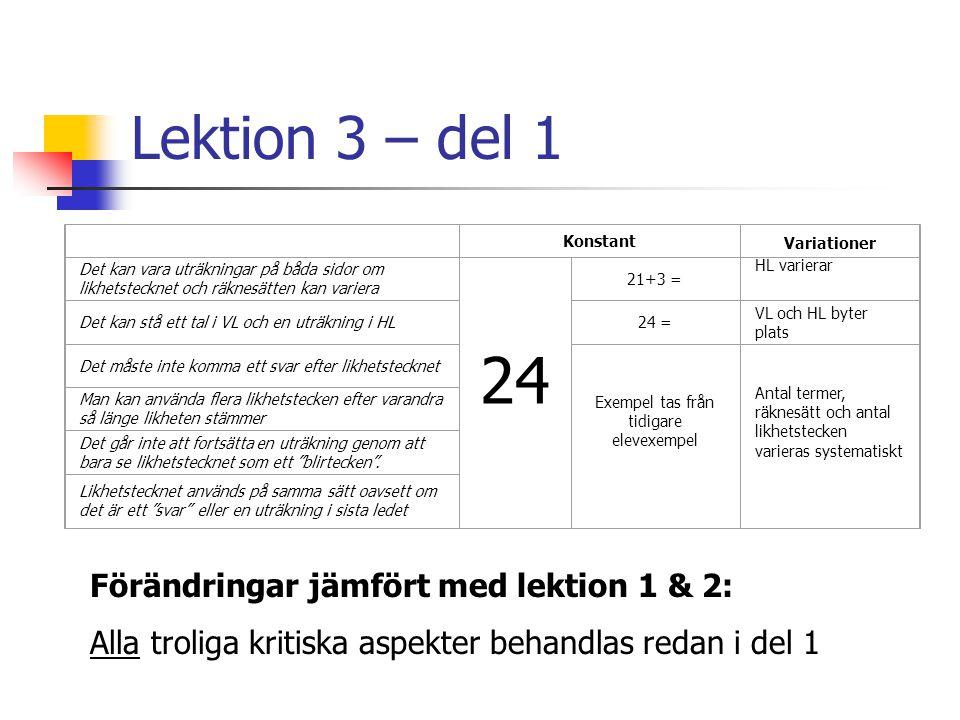 Exempel tas från tidigare elevexempel