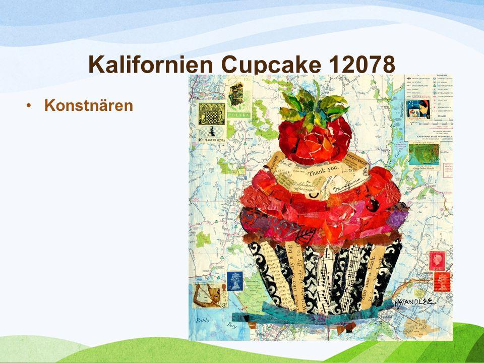 Kalifornien Cupcake 12078 Konstnären Nancy Standlee